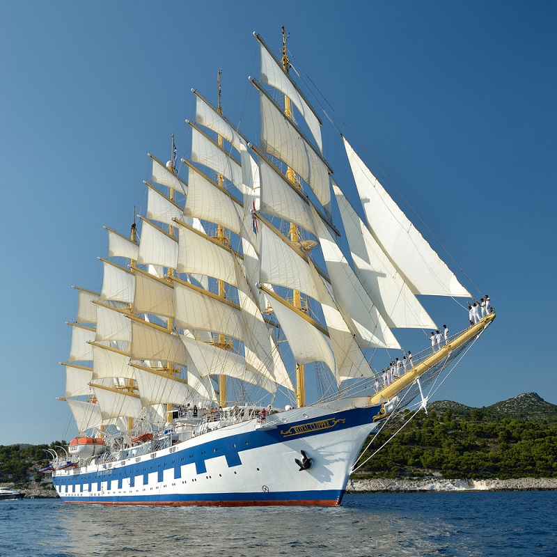 alternative cruises - sailing vessel
